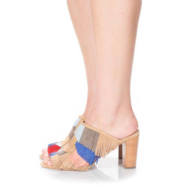 Item - Multi Color Fringes Morley Mules/Slides Size US 8 Regular (M, B)