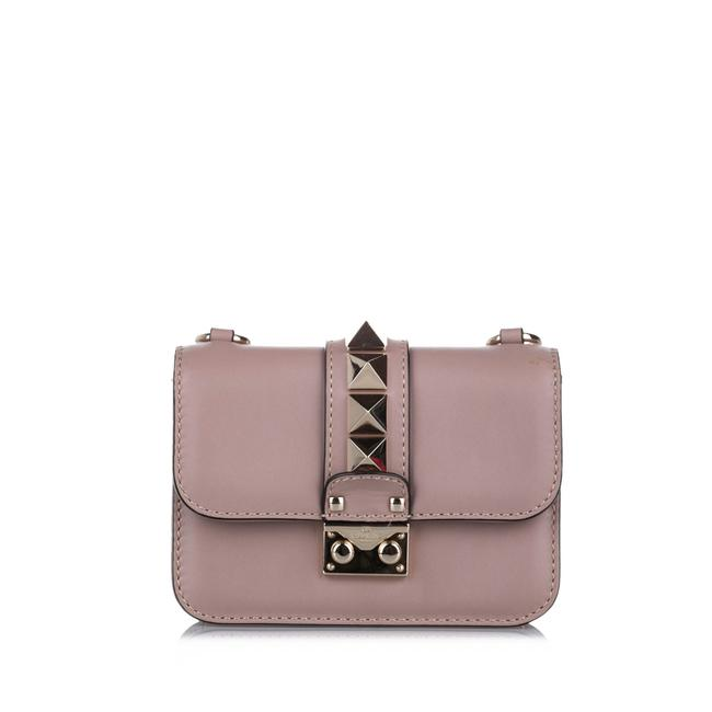 Item - Pink Leather Cross Body Bag