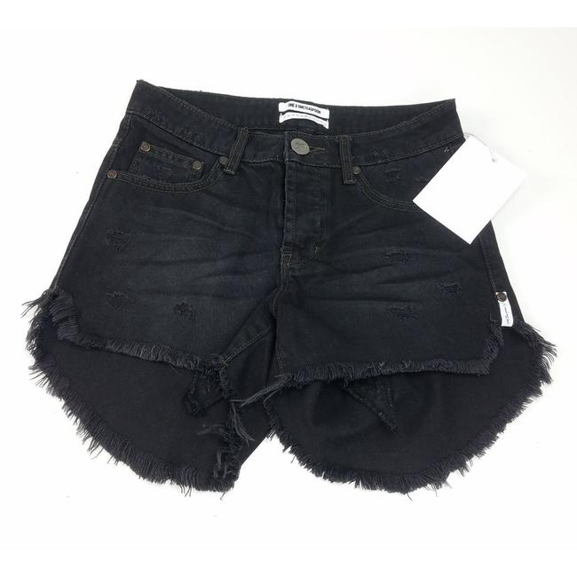 Item - Black X Van Juliettes High Waisted Shorts Size 4 (S, 27)