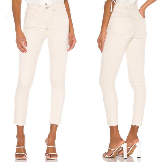 Item - Cream Light Wash High Rise Jegging In Tea Skinny Jeans Size 27 (4, S)