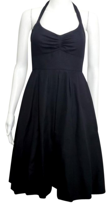Item - Black Lydia Mid-length Cocktail Dress Size 2 (XS)