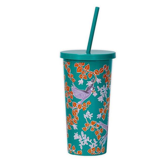 Item - Bird Party Tumbler & Straw New with Tag