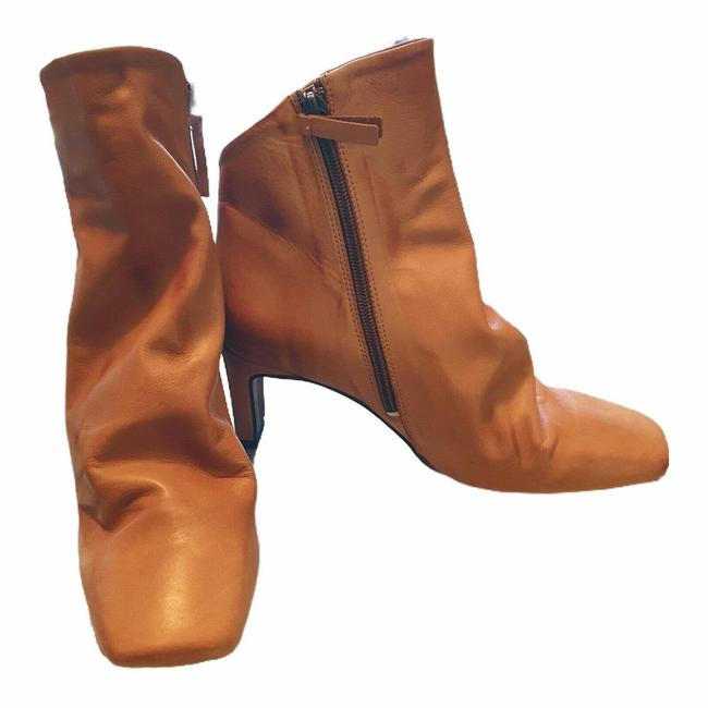 Item - Brown Cybill Ankle Tan Smooth Leather Portugal 8.5m Boots/Booties Size EU 39 (Approx. US 9) Regular (M, B)