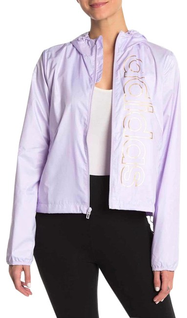 Item - Lilac Mesh Hooded Jacket Size 12 (L)