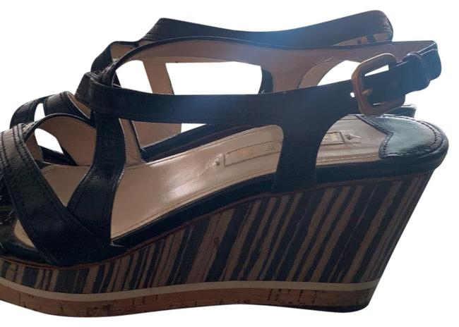 Item - Black Wedges Size US 7.5 Regular (M, B)