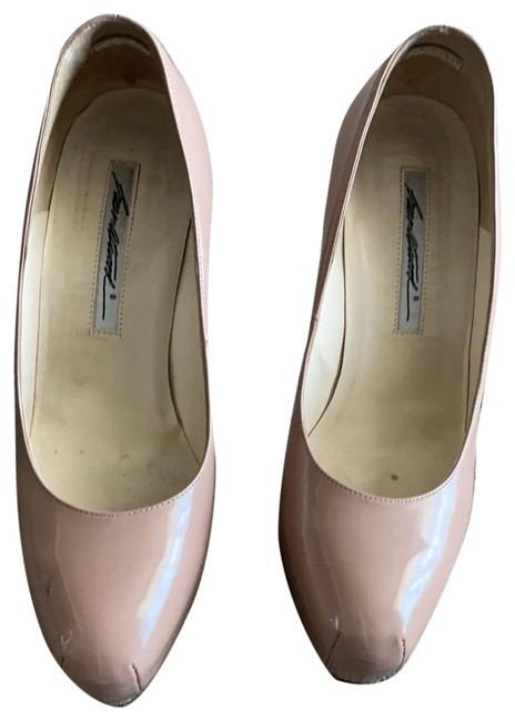 Item - Nude 'maniac' Platform Pumps Size EU 37.5 (Approx. US 7.5) Regular (M, B)