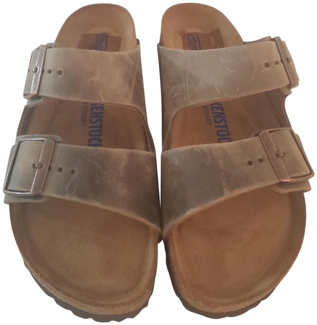 Item - Tobacco Brown Arizona Soft Footbed Sandals Size EU 39 (Approx. US 9) Narrow (Aa, N)