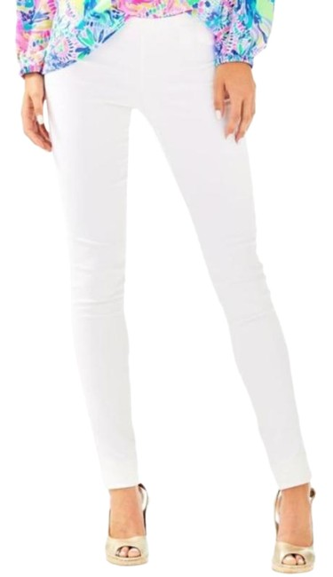 Item - White Gold Alessia Pants Size 4 (S, 27)