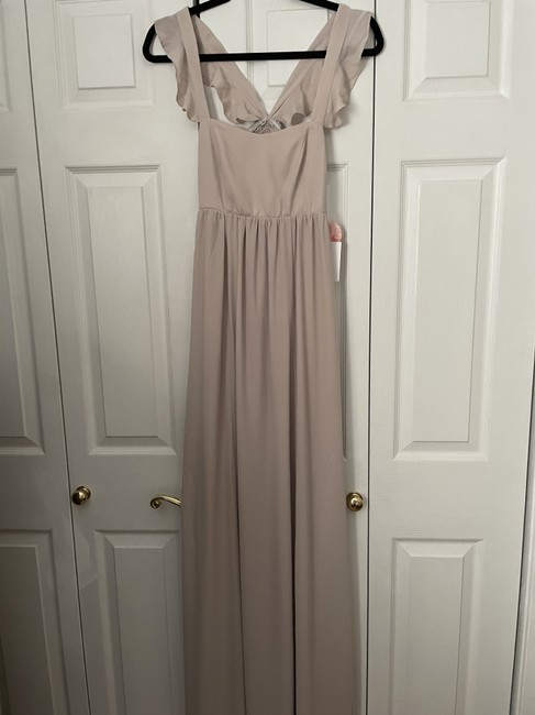 Item - The Ring Crisp Polyester June Casual Bridesmaid/Mob Dress Size 4 (S)
