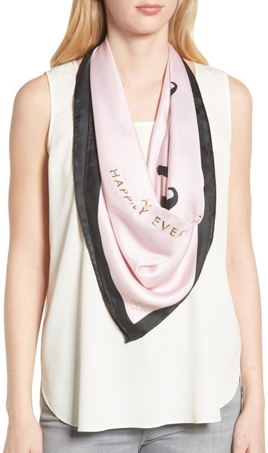 Item - Pink New York Just Married Square Silk Scarf/Wrap