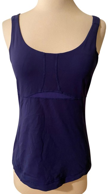 Item - Blue See Through Activewear Top Size 6 (S)