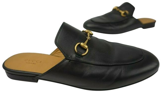 Item - Black Princetown Leather Women's Loafers Mules/Slides Size EU 37 (Approx. US 7) Regular (M, B)