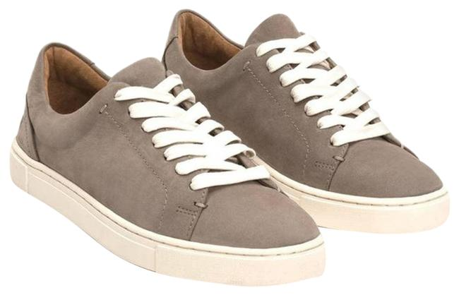 Item - Gray Ivy Low Lace Leather 9m Sneakers Size US 9 Regular (M, B)