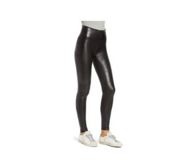 Item - Faux Leather Activewear Bottoms Size 0 (XS)