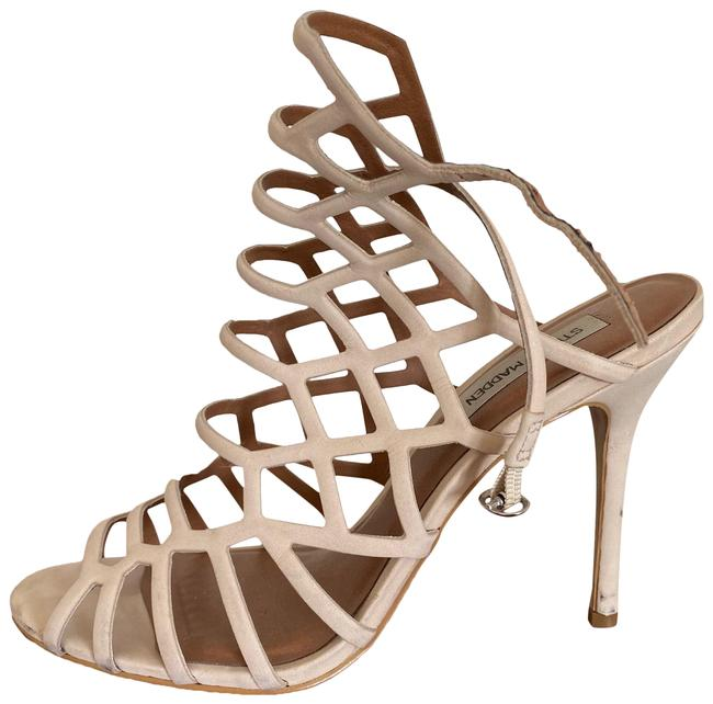 Item - Nude Strappy Sandals Size US 10 Regular (M, B)
