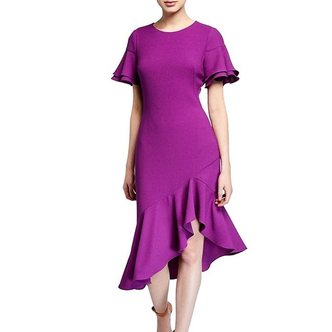 Item - Purple Mid-length Night Out Dress Size 8 (M)