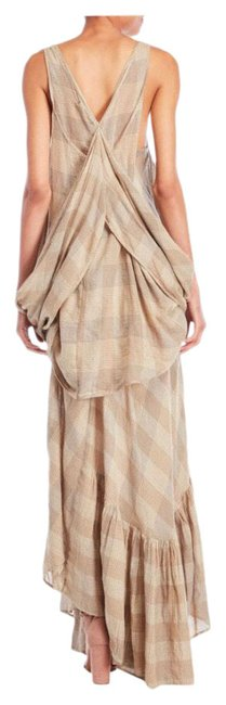 Item - Two Piece Plaid Long Casual Maxi Dress Size 6 (S)