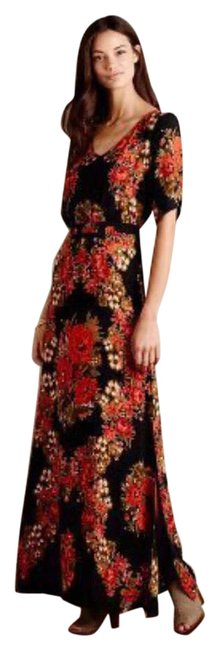 Item - Floral Maxi Long Night Out Dress Size 0 (XS)