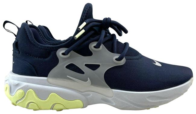 Item - Navy/Yellow React Presto Running Low Top Lace Up Sneakers Size US 9.5 Regular (M, B)