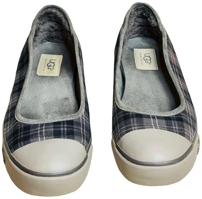 Item - Gray Neema 1881 Plaid Slip On Loafers Flats Size US 9 Regular (M, B)