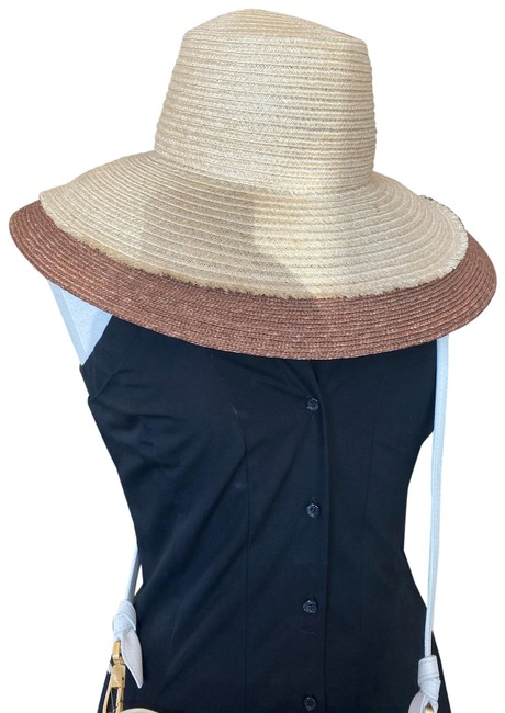 Item - Natural Nude Two Tone Sun Hat