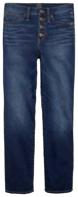 Item - Blue High Rise Vintage Button Fly Straight Leg Jeans Size 30 (6, M)