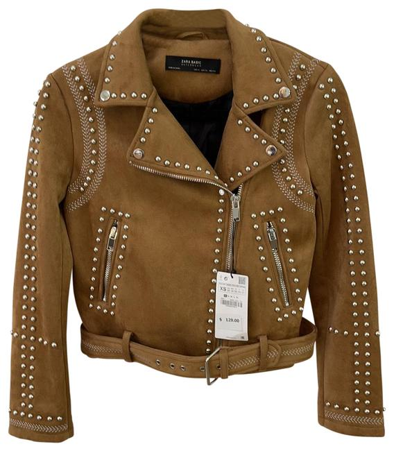 Item - Tan Jacket Size 0 (XS)
