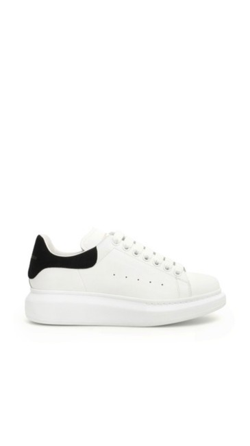 Item - White & Black Croc Oversized Sneakers Size EU 36 (Approx. US 6) Regular (M, B)