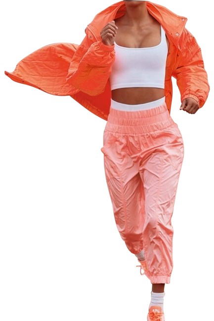 Item - Orange XS Fp Movement The Way Home Jogger New Activewear Bottoms Size 2 (XS, 26)