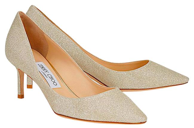 Item - Gold New Romy Dusty Glitter Pumps Size EU 37 (Approx. US 7) Regular (M, B)