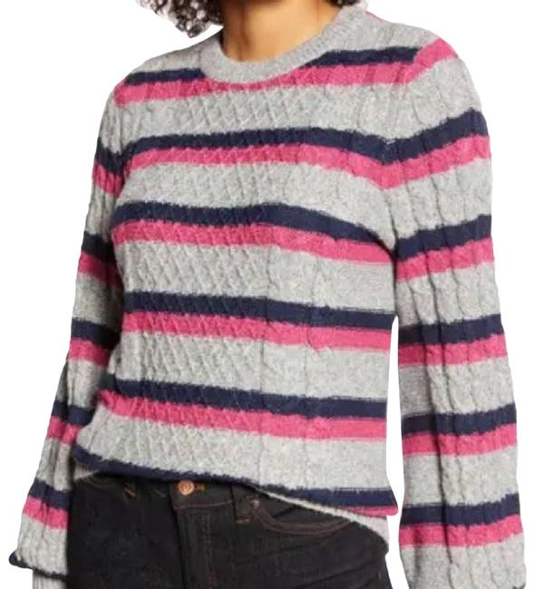 Item - Atlantic-pacific Cable Knit Small Pink Sweater