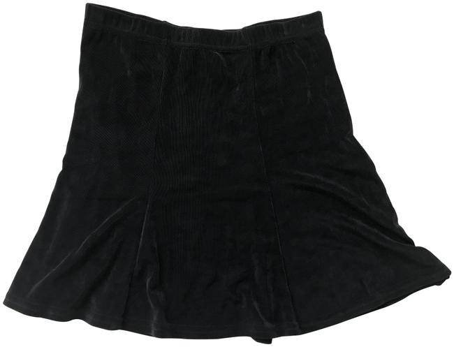 Item - Black Stretchy Skirt Size 6 (S, 28)