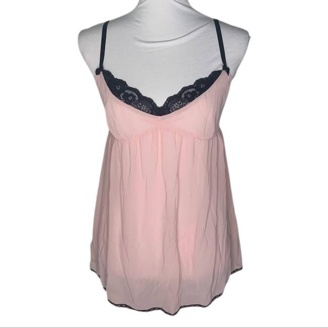 Item - Pink Sheer Lace Lingerie M Tank Top/Cami Size 8 (M)