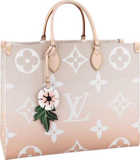 Item - Onthego Gm By The Pool Pink Coated Canvas Tote