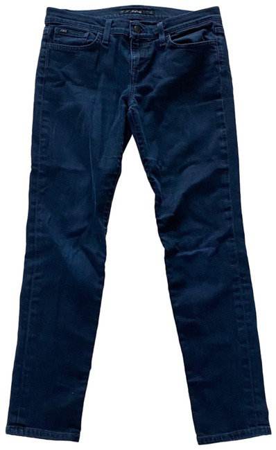 Item - Dark Blue Rinse Fit Ankle Cigarette 27 Straight Leg Jeans Size 4 (S, 27)