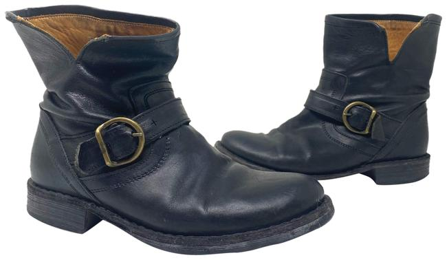 Item - Black Ankle Buckle 6.5 Boots/Booties Size EU 36.5 (Approx. US 6.5) Regular (M, B)