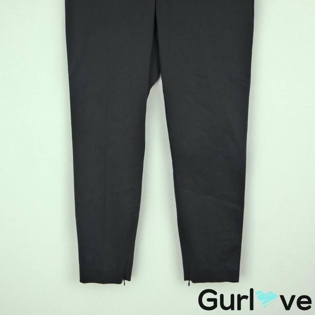 Theory Black Ankle Zip Trouser Pants Activewear Bottoms Size 4 (S, 27) Theory Black Ankle Zip Trouser Pants Activewear Bottoms Size 4 (S, 27) Image 5