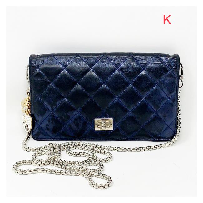Item - Blue And Strap Wallet