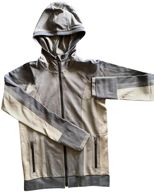 Item - Gray Combo Ebb To Street Activewear Outerwear Size 6 (S)