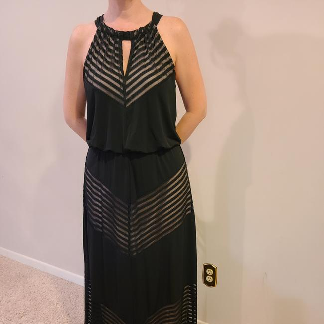 Item - Black and Nude None Long Formal Dress Size 12 (L)