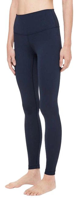 Item - Navy Wunder Under High Rise (28in) Activewear Bottoms Size 4 (S)