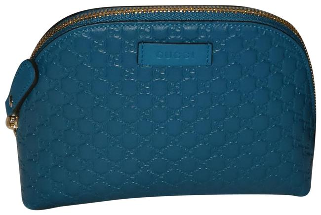 Item - Turquoise ssima Pouch Cosmetic Bag