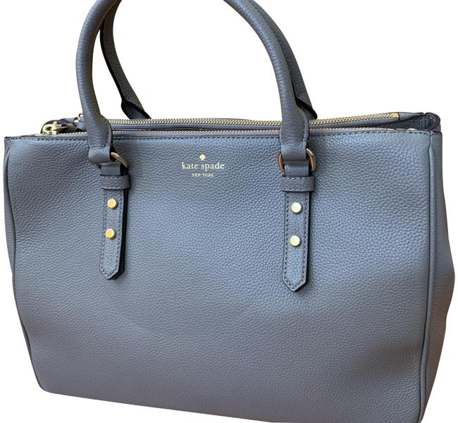 Item - New-but-no-strap Leighann Grey Leather Tote
