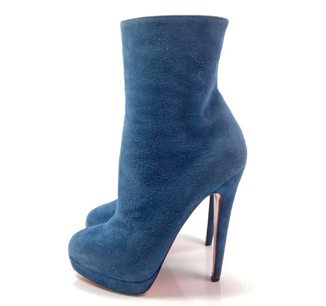 Item - Blue Alti 140 Suede Ankle Boots/Booties Size EU 35.5 (Approx. US 5.5) Regular (M, B)
