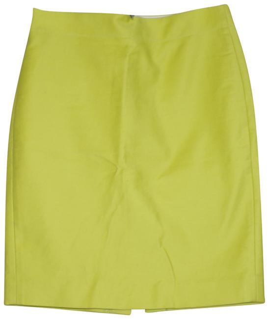 Item - Yellow Mustard Blend Pencil Skirt Size 6 (S, 28)