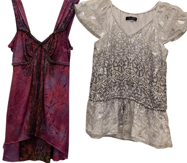 Item - Printed Blouse Size 6 (S)