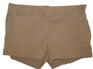 J.Crew Mini/Short Shorts Tan