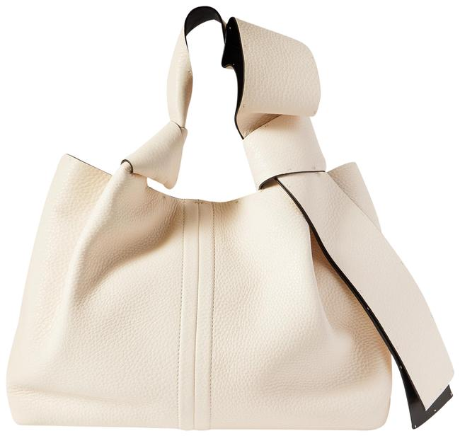 Item - Garavani 02 Bow Edition Atelier Small Textured-leather White Leather Tote