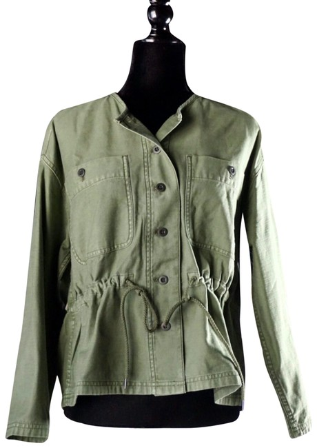 Item - Green XS Claremont Drawstring New Jacket Size 2 (XS)