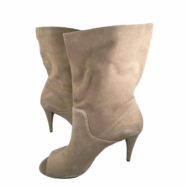 Item - Cream Elaine Open Toe Boots/Booties Size US 8 Regular (M, B)